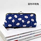 HATCHMATIC 19 * 8 * 2.5cm Handmade Handbag Purse Frame Pen Bag DIY Crafts Material Kit for Women Clutch Purse Frame Pouch Free shipping: design 5