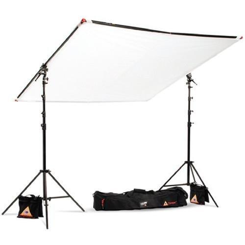 Fabric Photoflex (Photoflex 77x77 Aluminum LitePanel Kit, Includes 77