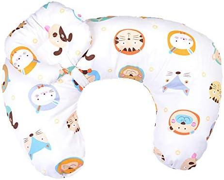 Cieelita Breastfeeding Pillow Multifunctional Newborn Cotton Pillow Infant Cuddle U-Shaped Feeding Waist Cushion For Baby Living Room