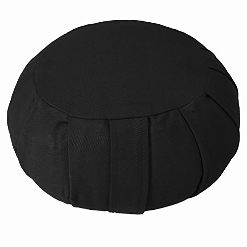 YogaAccessories Round Cotton Zafu Meditation Cushion for sale  Delivered anywhere in USA