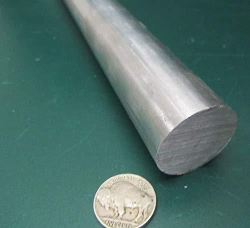 1 Pc. 6061-T6511 Aluminum Round Rod Length 1.25 Diameter x 6 Ft