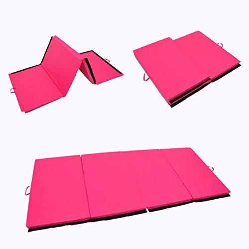 Polar Aurora 4'x6'x2 Folding Gym Yoga Mat Exercise Aerobics Gymnastics Stretching Yoga