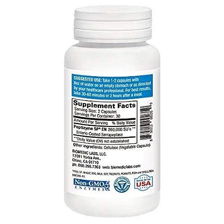 Amazon.com: Serra RX 260.000 su de (60 Cápsulas): Health ...