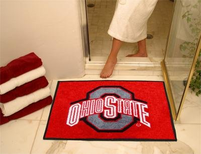 Fanmats Ohio State Buckeyes All-Star Mat