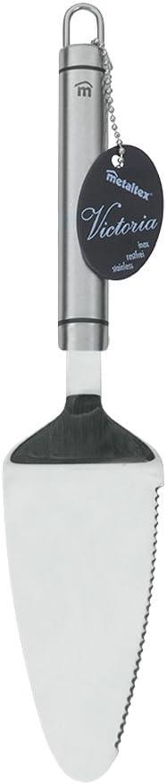 28 cm Argent Acier Inoxydable Metaltex 232700 Pelle /à Tarte Victoria