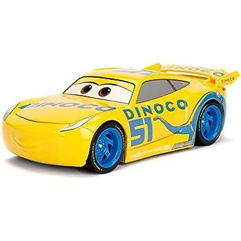 Metals Pixar Cars 3 1: 24 Diecast - Dinoco Cruz Ramirez Vehicle