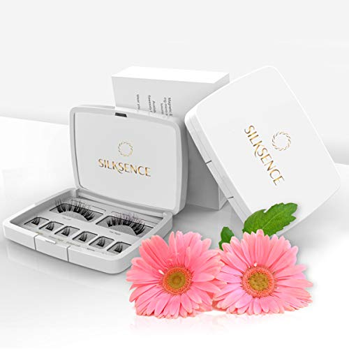 Magnetic Eyelashes, Naturally Looking Full Lashes, Elegant and Extravagant, 0.2mm Ultra Thin Magnet, Lightweight & Easy to Wear, Best 3D Reusable Eyelashes with Applicator