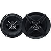 Sony XSXB160 3-Way In Car Audio Speakers, Pair (Black)