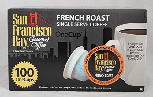 (San Francisco Bay single serve French Roast, 100 ct)