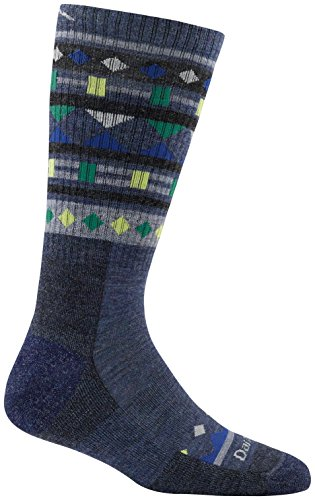 Trek Boot Sock - Darn Tough Trail Magic Boot Cushion Sock - Women's Denim Medium