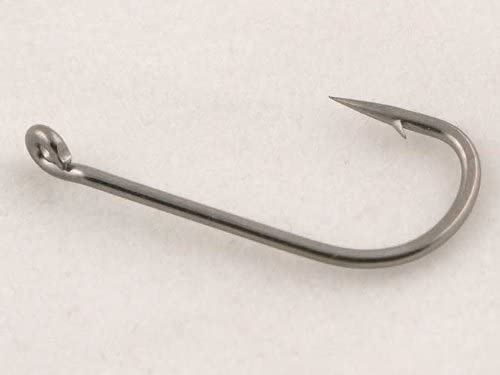 Suitable for Carp hair rigs fly tying Phoxinus 50 Long Shank Barbed Hooks