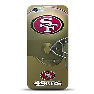 Apple iPhone 6S Plus Case, Helmet Series NFL Licensed Slim & Flexible Anti-shock Crystal Silicone Protective TPU Gel Skin Case Cover