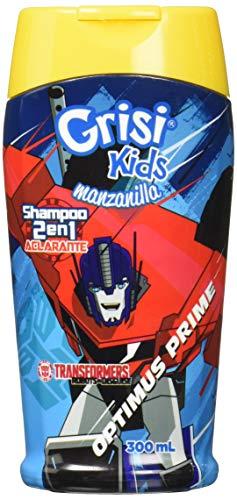Grisi Kids Shampoo Manzanilla Transformers 2 en 1, 300 ml