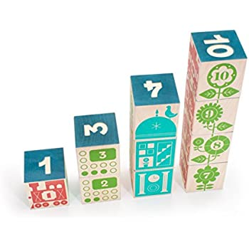 Amazon uncle goose periodic table blocks made in usa toys uncle goose count and stack blocks made in usa urtaz Gallery