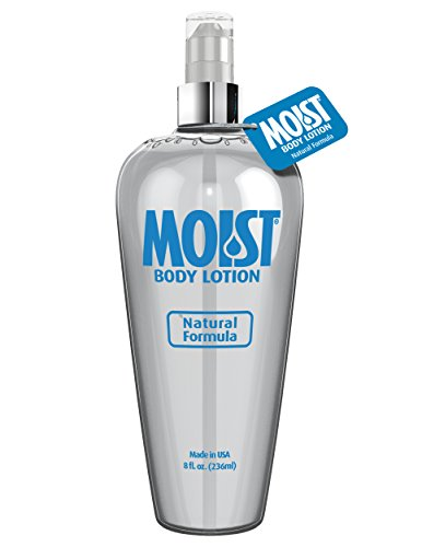 Pipedream Moist Personal Body Lotion Crystal Clear, Non-staining and Fragrance-free, Providing (Moist Lubricant)