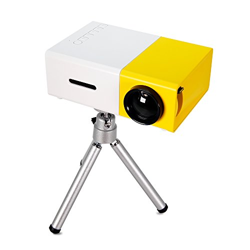 Mini pocket projector portable video projector ulbre yg for Portable video projector