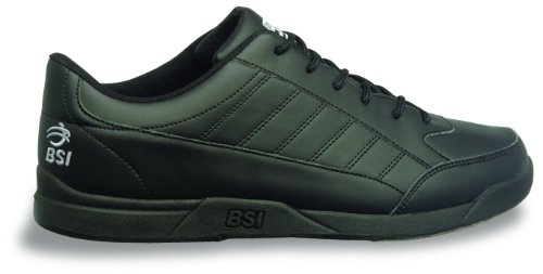Image of the BSI Men's Basic #521 Bowling Shoes, Black, Size 11.0