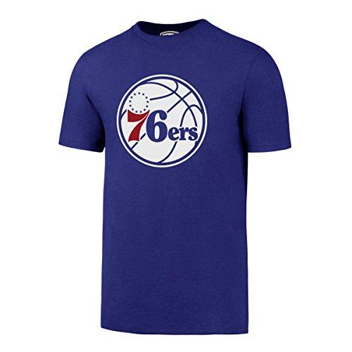 NBA Philadelphia 76ers Men's OTS Rival Tee, Large, Royal