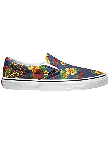 Vans Classic Slip-On Slippers (aloha) dress blues / bleu Taille 4.5