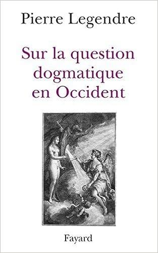 Livres gratuits Sur la question dogmatique en occident pdf, epub ebook