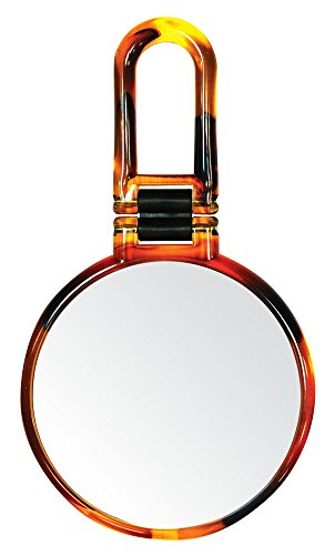 Danielle Creations Tortoise Folding Hand Mirror, 10X Magnification by Danielle Enterprises