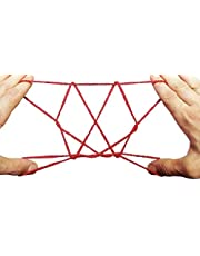 Guilty Gadgets Cats Cradle String Stretchy Classic Game For