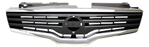 IPCW CWG-DS4907A0 Chrome//Black Replacement Grille