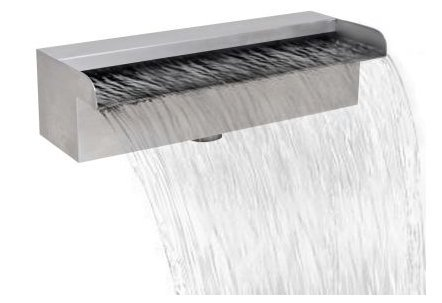 SKB Family Pool Fountain Water New Color Waterfall Stainless Pump 150 cm by SKB family