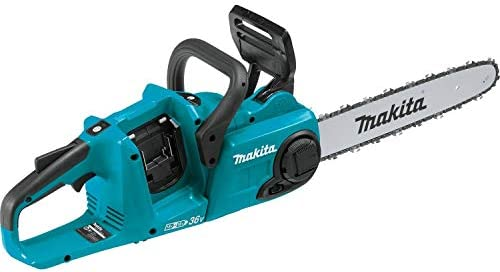 MAKITA XCU03Z 18V X2 36V LXT Lithium-Ion Brushless Cordless 14in Chain Saw, Tool Only Renewed