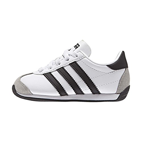 I – Unisex El Country Og White black nero Bambini Adidas Sneaker Bianco wng1TtxY