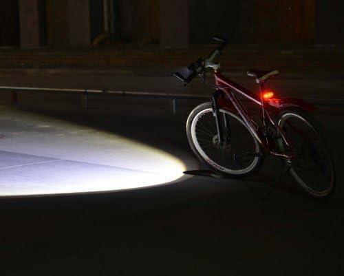 Canwelum - Faros LED T6 Cree brillante, luz MTB LED alta potencia ...