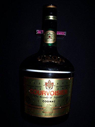 Courvoisier Vs Cognac - V.S.O.P. Courvoisier Cognac Vintage Bottle Shaped Plastic Ice Bucket
