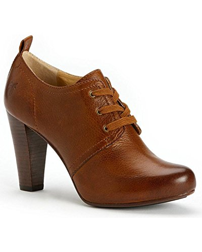 Frye Women's Marissa Oxford Cognac Soft Vintage Leather Boot 10 B (M)
