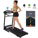 Folding Electric Treadmill Incline, Power Motorized Fitness Running Machine Walking Treadmill(US Stock) (2.25 HP)