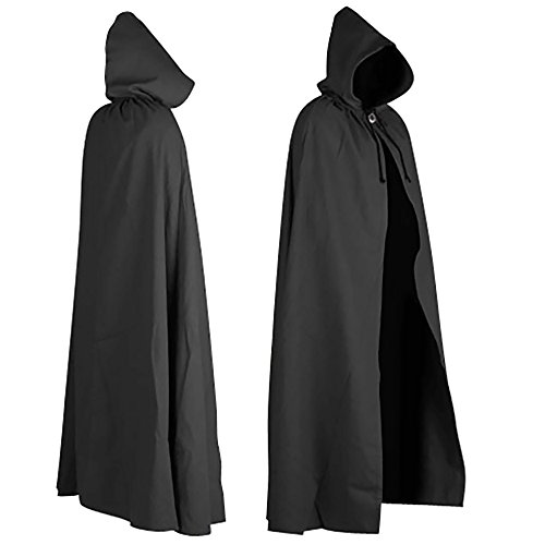 Aaron Canvas Cloak (Black)]()