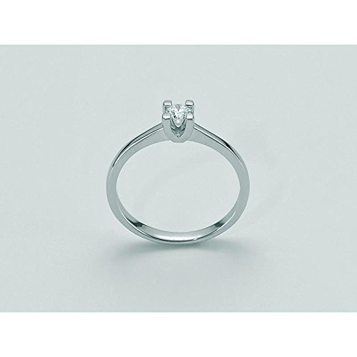 Solitaire MILUNA HSI les Parure diamant Basico lid3113-011S or diamant