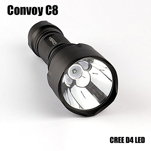 247 Store Convoy C8 D4 5W 7135*3 7Modes Blue Light Fishing