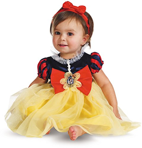 Disney Costume For 1 Year Old (Disguise My First Disney Snow White Costume, Red/Blue/Yellow, 12-18 Months)