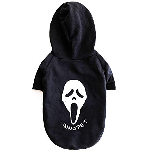 InnoPet Halloween Ghost Dog Clothes, Small Dog Luminous
