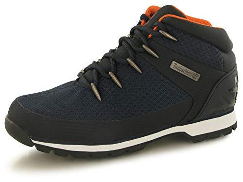 Timberland Euro Sprint Hiker Boots A1QKA Navy Ripstop Size 8