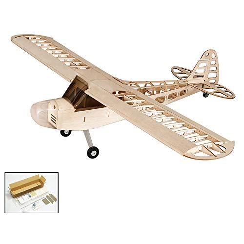 Goolsky バルサウッド RC飛行機 1.2M Piper Cub J-3 リモコン 航空機キット バージョン DIY フライングモデル Dancing Wings Hobby S0801の商品画像