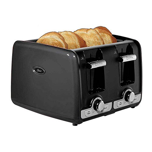 Oster 4 Slice Long Slot Toaster Tssttr6330 Np Stainless Steel