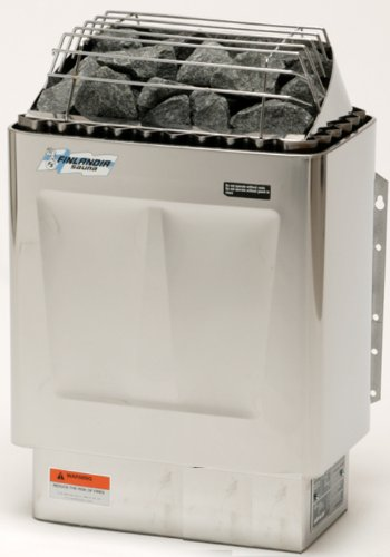 Finlandia FIN-60-S Sauna Heater with F-1T Control, 6kw 240v/1ph, Maximum 300 cubic feet Review