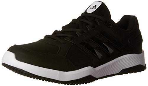 adidas Men's Duramo 8 M Cross-Trainer Shoe, Black/White, 12.5 M US