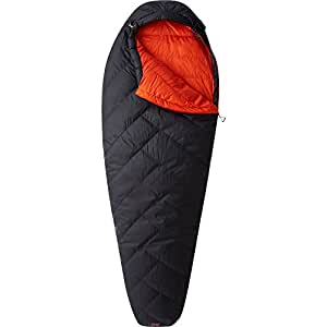 Mountain Hardwear Ratio 15F/-9C Sleeping Bag, Shark, Long x Right Zip