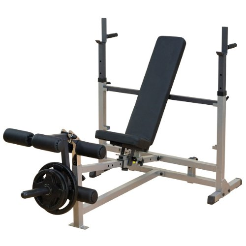Body Solid GDIB46L Olympic Bench with Leg Developer by Body-Solid