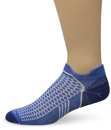 Sockwell Mens Incline Inspire Athletic Ultra Light Micro Socks  Medium Large  Ocean