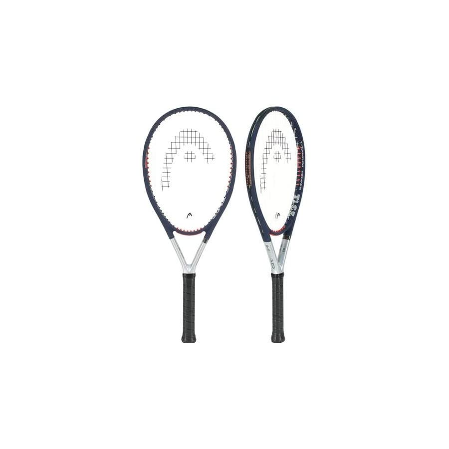 HEAD Ti.S5 CZ Strung Tennis Racquet (Strung)