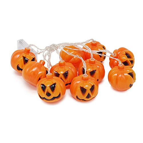 Halloween Led Pumpkin Lantern, Battery Operated