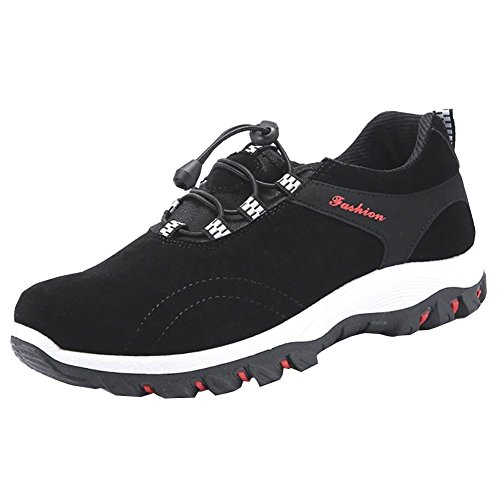 Homme De Basses Randonnée Noir Marche Respirant Chaussures 7ZdBx6wqB